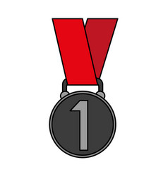 prize or award icon image vector image