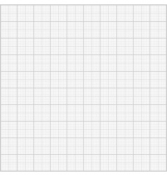 Gray millimeter paper background square grid backg vector