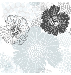 Abstract floral ornament vector image vector image