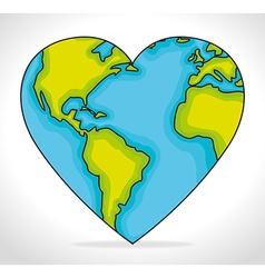 World earth design vector