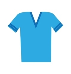 v neck t shirt icon image vector image