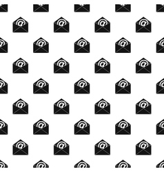 E-mail pattern simple style vector