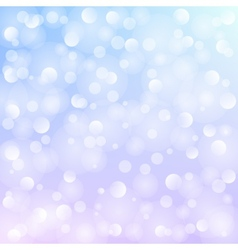 White bokeh vector