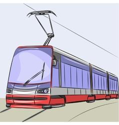 Tram vector