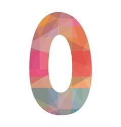 O alphabet2 vector image