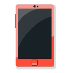 Tablet mobile phone in vector