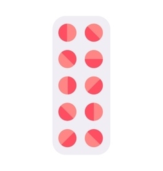 Tablet pills vector image vector image