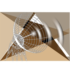 Abstract antenna vector