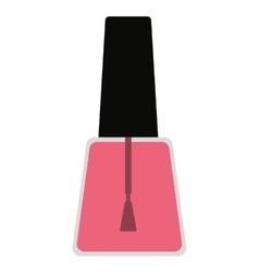 Nailspolish makeup product isolated icon design vector
