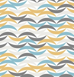 Color waves seamless pattern abstract background vector