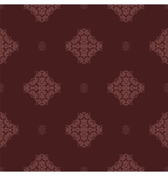 Seamless texture on red ornamental backdrop vector