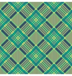 Plaid seamless tartan pattern diagonal texture vector