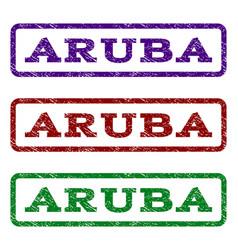 Aruba watermark stamp vector