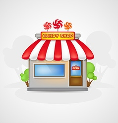 Candy shop vector