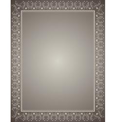 Grey certificate background vector