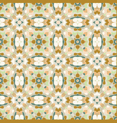 orange and green pattern vector image vector image