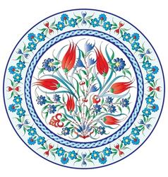 Oriental ottoman design twenty six vector