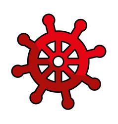 ship timon isolated icon vector image