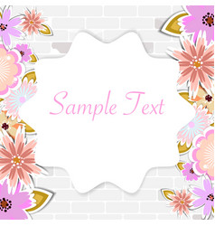 Template for card weddingparty invitation vector