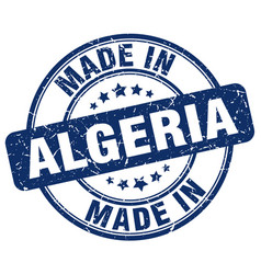 Made in algeria vector