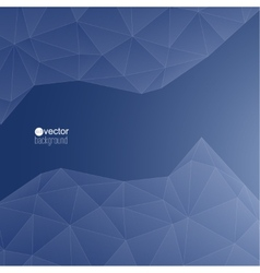 Blue abstract background with transparent mesh vector