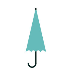 closed umbrella sideview icon image vector image