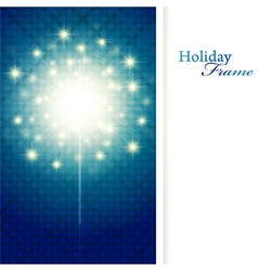 holiday sparkle vector image