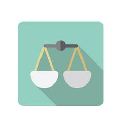 Scales icon vector