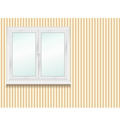 window in the room vector image