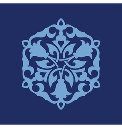 Ottoman decorative pattern vector