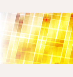 abstract background - yellow geometric design vector image
