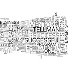 What will you accomplish when wealth gurus mentor vector