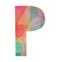 P alphabet vector
