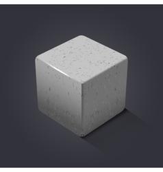 Rock icon vector