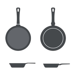 Icons pan vector
