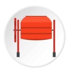 Mixer icon flat style vector