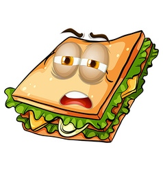 Sandwich with lazy face vector