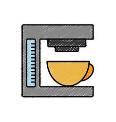 Coffee maker icon vector