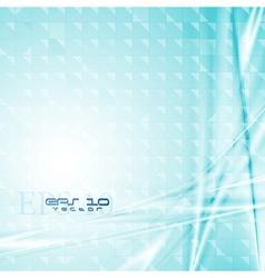 Colourful blue tech design vector image