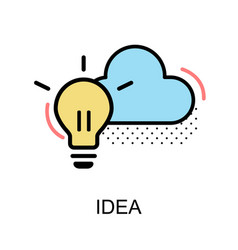 Idea graphic icon vector