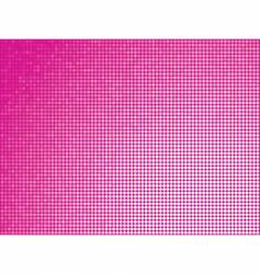 pink tiles background vector image