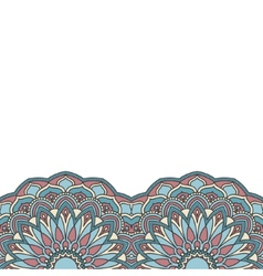 Floral oriental pattern vector