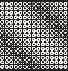 abstract black and white pattern background vector image vector image