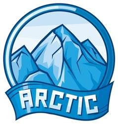 arctic design vector image vector image