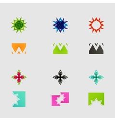 Arrow sign icon set design eps10 vector image vector image