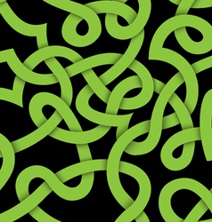 Bound ribbon seamless pattern vector