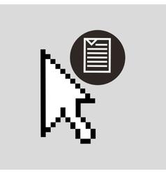 digital files icon vector image vector image