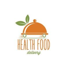 health food delivery vector image