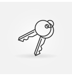 Keys icon vector image