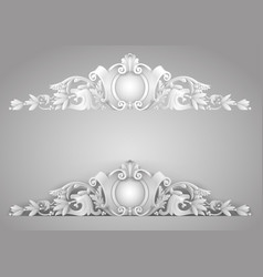 architectural element sandrik vector image vector image